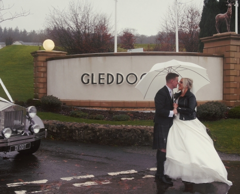 Winter Gleddoch House Wedding Video