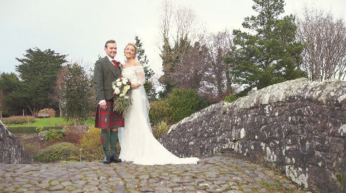 Brig O Doon Wedding Winter
