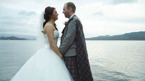 Cruin Wedding Video Loch Lomond