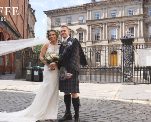 Balmoral Hotel Wedding Video Teaser