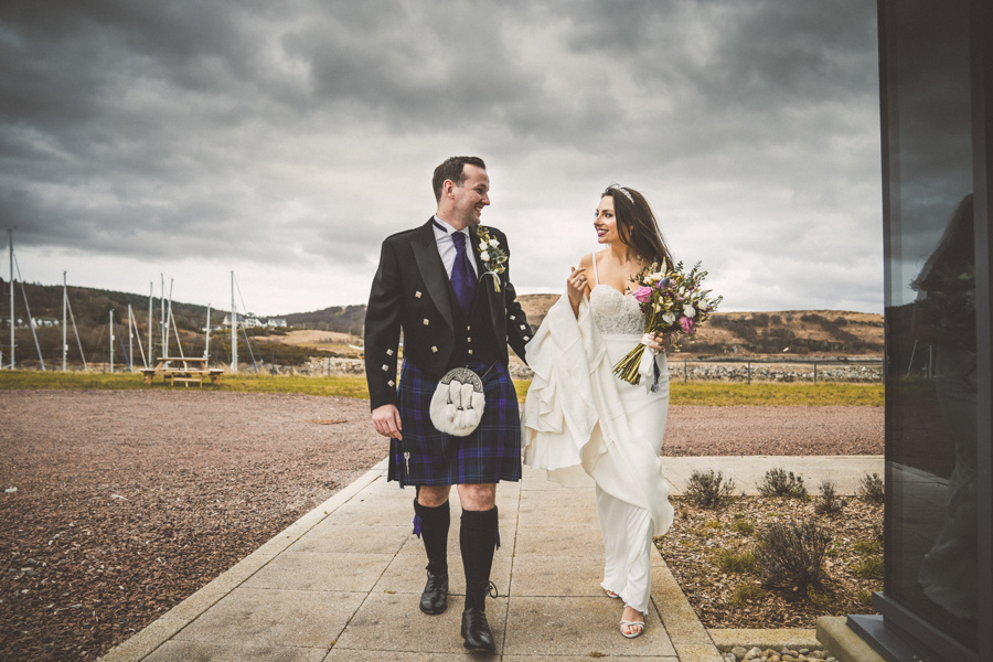 Small Wedding Video Scotland
