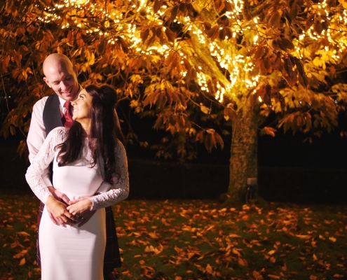 Autumnal Mar Hall Wedding Video