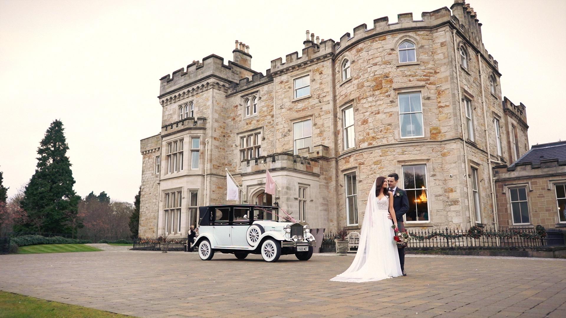 Winter Crossbasket Castle Wedding Video