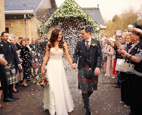 Winter Crossbasket Castle Wedding Video